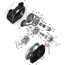 Vymezovací kroužek rolny variátoru 420230456